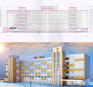 Проектирование крупных административных и производственных зданий