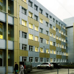 Реконструкция административно-бытового корпуса цеха производства металлоконструкций: устройство фасада, инженерных систем