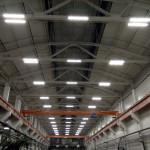 Работы по монтажу новой системы освещения и сетей электроснабжения