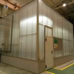 Устройство термоконстантного помещения для измерительных машин